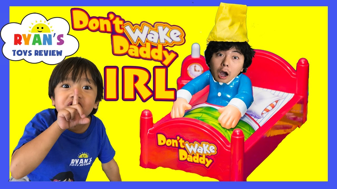 Dont wake daddy irl challenge family fun games for kids egg dont wake daddy irl challenge family fun games for kids egg surprise warheads extreme sour candy youtube solutioingenieria Gallery