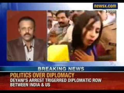 NewsX: RPI cadres hijack Devyani Khobragade's arrival in Mumbai