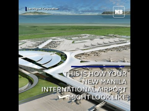 This is how your New Manila International Airport might look like