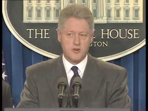 President Clinton on the Situation in Iraq (1998)