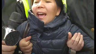 В Алматы на митинге задержали Ингу Иманбай, несмотря на её беременность