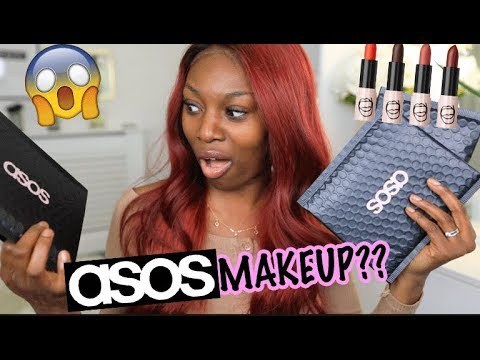 TRYING ASOS MAKEUP?? WELL...WHO KNEW??