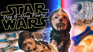 ULTIMATE STAR WARS DOG BIRTHDAY PARTY!