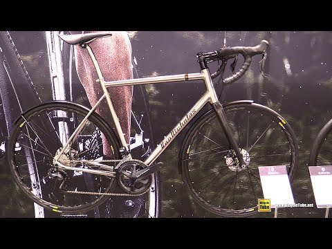 2018 Van Nicholas Yukon Disc Titanium Bike - Walkaround - 2017 Eurobike