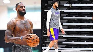 LeBron James Holding Private Lakers' Workouts & NBA Season To Return Season At Disney