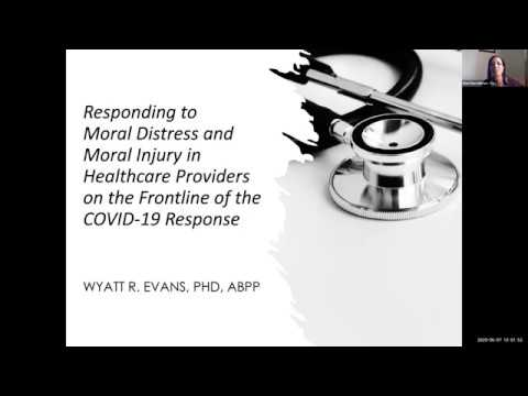 Responding to Moral Distress & Moral Injury in Healthcare Providers on the Frontline of COVID-19