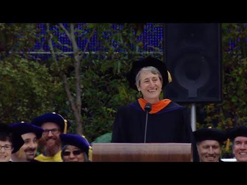 Sally Jewell 2016 University of Washington Commencement Speaker