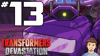 Transformers Devastation Gameplay Walkthrough - PART 13 - Shockwave Boss Fight!!!