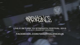 Malevolence Live @ Return to Strength Festival 2013 (HD)