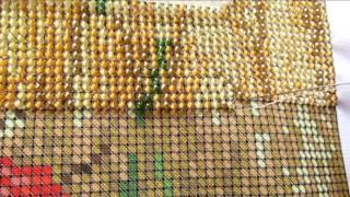 Как вышивать бисером? Процесс вышивки ( для новичков )