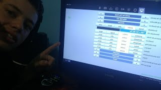fortnite!!!configurações do meu Pc gamer A6 7400k.