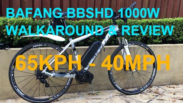Ebike conversion - Bafang BBSHD 1000+ watt   Technibble Forums