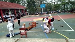 DEMO PMR WIRA SMK BANGKIT INDONESIA TALAGA