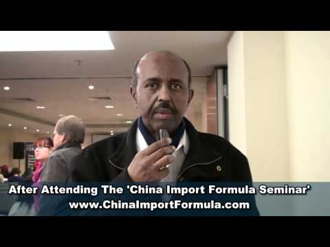 China Import Formula Seminar Reviews