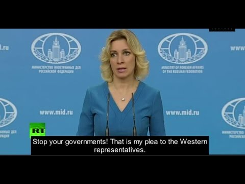 "Syrian Gas Attack is a Lie - ""Stop Your Governments!"" - Russia"