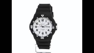 amazon com casio men s classic quartz resin automatic watch color black model mrw200h 7bv watc