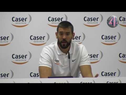 """Marc Gasol: """"Que Pau esté en Río 2016 es bueno para el basket"""""""