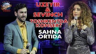 Uzeyir va Sevinch - Toshkentda konsert (sahna ortida)