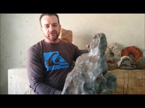 Pedras e Fundos 3D para Aquários, Lagos e Fontes.