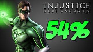 Green Lantern Combo 54% - Injustice Gods Among Us
