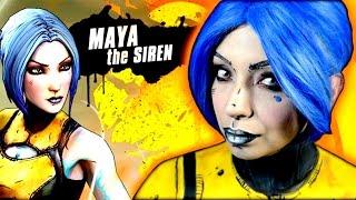 borderlands 2 maya the siren makeup tutorial   archaotika