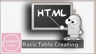 Html table creating  in simple and Easy way | Learning Code Mp3