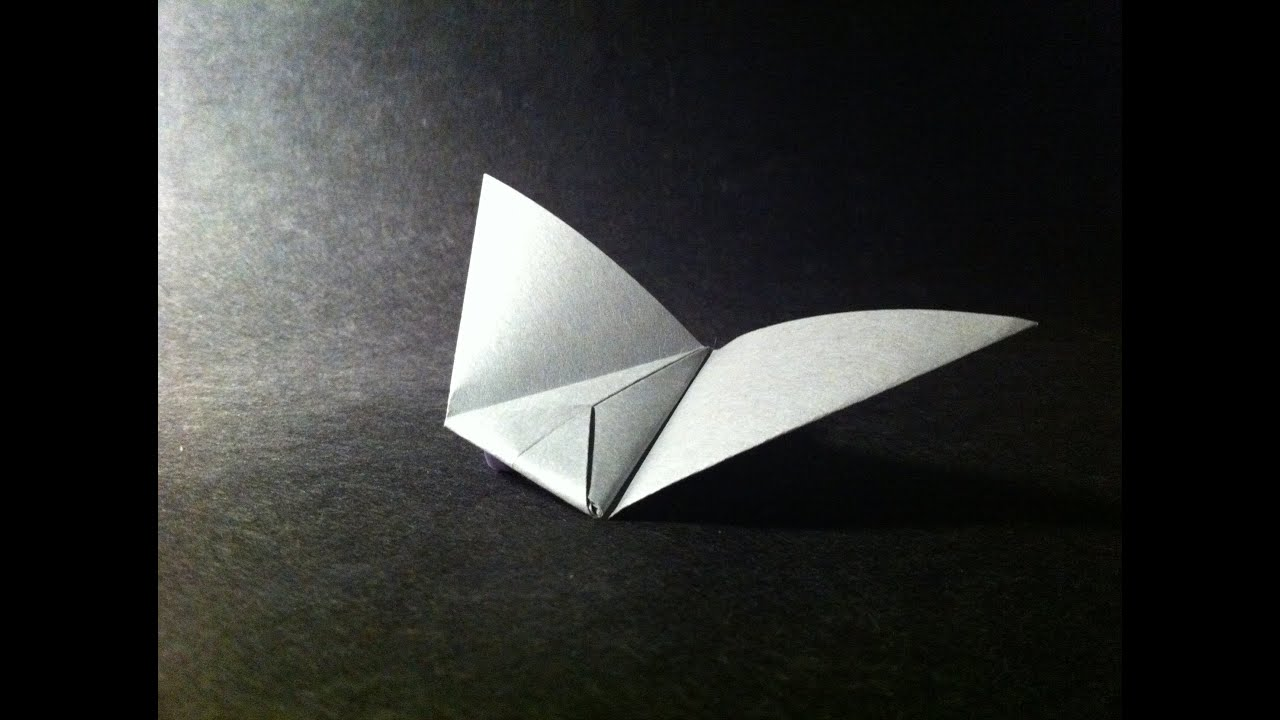 Origami Paper Plane Flying Wing