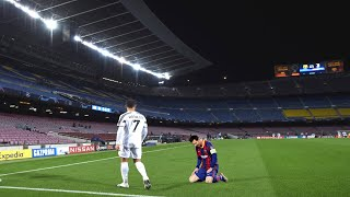 5 Times C. Ronaldo Showed Messi Who's The GOAT
