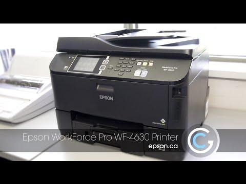 Epson WorkForce Pro WF-4630 | Take the Tour Pt. 1