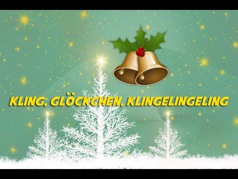 Kling, Glöckchen (instrumental - lyrics video for karaoke) | Weihnachtslieder