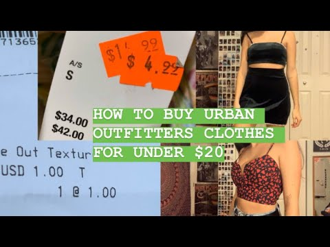 URBAN OUTFITTERS SURPLUS STORE IN CHICAGO HAUL