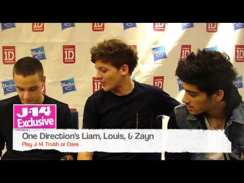 J-14 Exclusive Video: One Direction Plays J-14 Truth or Dare