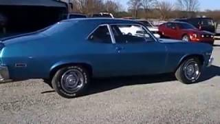 1971CHEVY  NOVA SS CLONE FOR SALE AT 500 CLASSIC AUTO