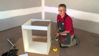 How To Assemble An Oven Cabinet - Diy At Bunnings