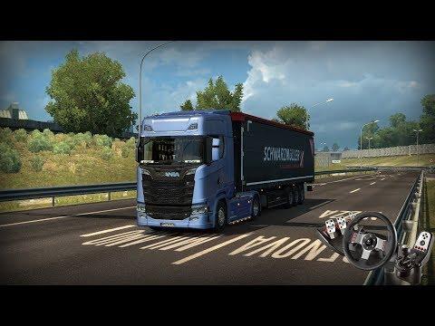 "Euro Truck Simulator 2 NEW ITALY MAP Torino - Milano ""Public Beta 1.30"" (Scania S)"