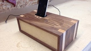 Woodworking project - docking station
