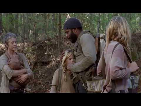 The Walking Dead - Deleted Scene - Carol, Tyreese & Girls - Season 4 Episode 14