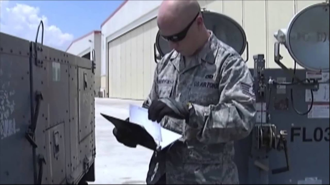 Air Force Report: Aerospace Ground Equipment - YouTube
