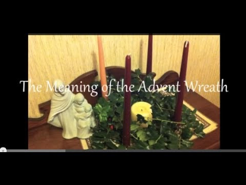 Advent, The Meaning of Advent Wreath