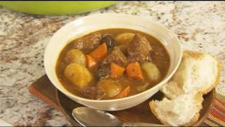 Easy Stew Recipe - Homemade Mustard Herb Beef Stew