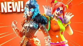 NEW DRAGON AND SKIN OF ASESINOS PAYASOS IN FORTNITE !! Makigames