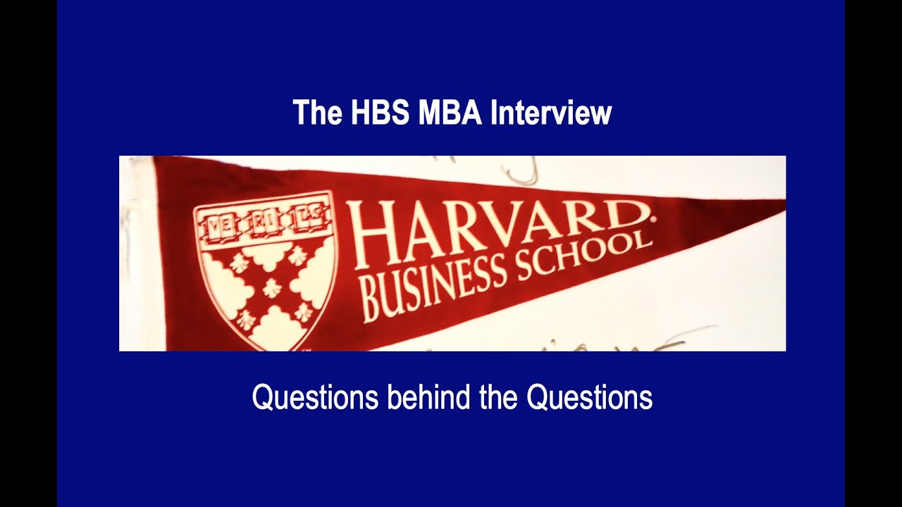 Hbs mba application essay