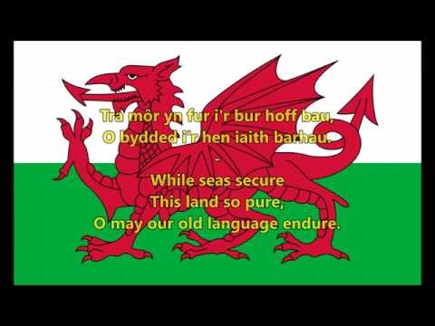National anthem of Wales (WLS/EN lyrics)