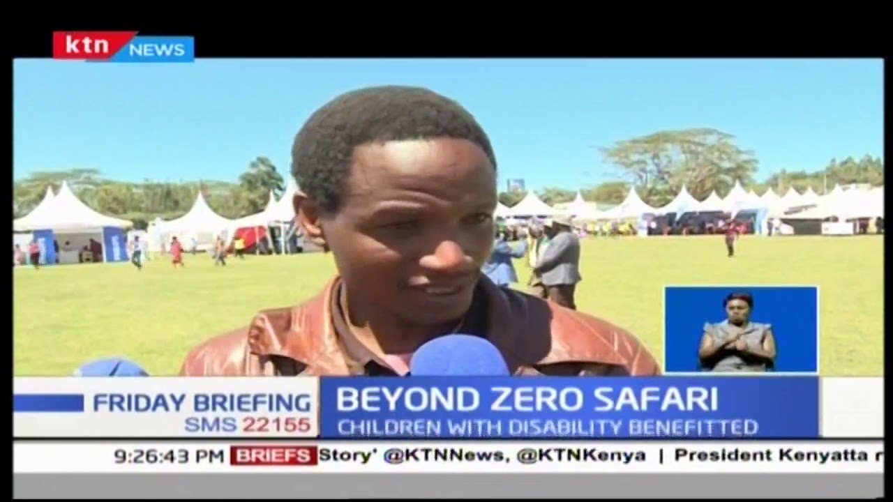 Parents bring out children with disabilities in Beyond Zero drive held in Narok
