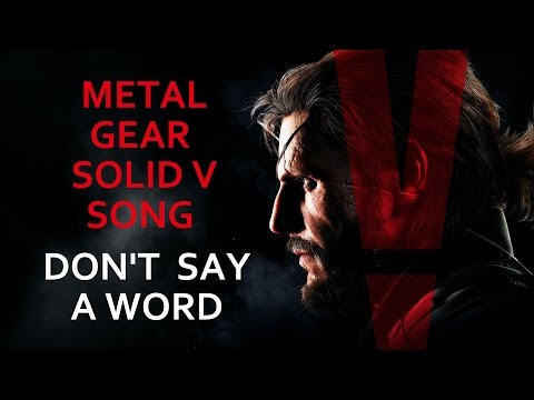 METAL GEAR SOLID V SONG - Don't Say A Word by Miracle Of Sound (Synth-Rock)