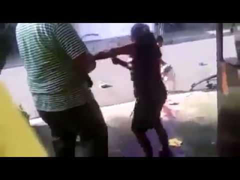 Perros Pitbull atacan a señoras en Honduras. Pitbull dog attack