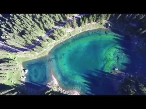La leggenda del lago di Carezza, che contiene tutti i colori dell'arcobaleno