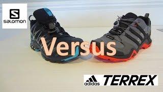 Salomon XA Pro 3D GTX VS Adidas Terrex Swift R2 GTX Review