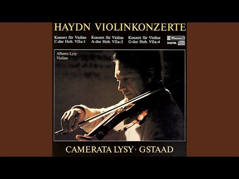Concerto in C Major, Hob. VIIa 1: I. Allegro moderato