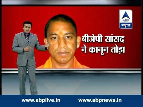 ABP News debate l Why Yogi Adityanath defied district administration order?